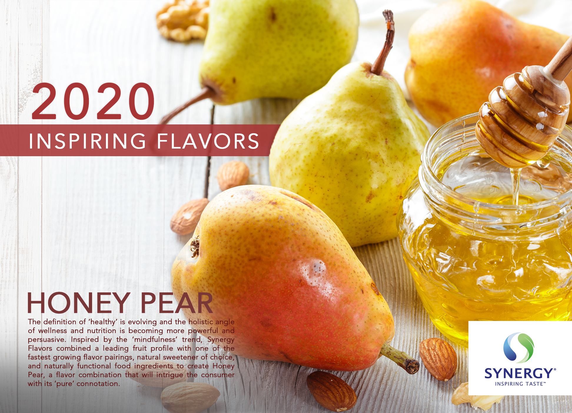 Inspiring Flavors 2020 - Honey Pear