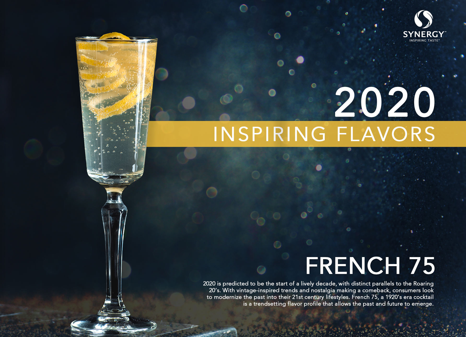 Inspiring Flavors 2020 - French 75